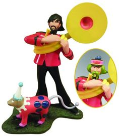 Round The Beatles Yellow Submarine George Harrison Model Kit for only $11.99 You save: $18.00 (60%)