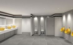 Commercial Washroom - durable, high use, public toilet