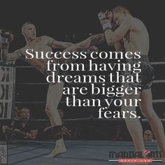Be #fearless in pursuing your #dreams. Believe in yourself that you can. Thank you @srgthaiboxing for allowing us to feature your #awesome photo. #quote #motivation #fighter #selfconfidence #selfesteem #selftrust #courage #fitness #workout #martialarts #zendokai #mma #bjj #karate #jiujitsu #muaythai #boxing #kickboxing #training #taekwondo #kungfu #ufc #brazilianjiujitsu #judo #kravmaga #wrestling #instagood
