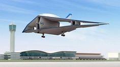 Avión con alas dobles alcanza velocidades supersónicas sin explosión sónica