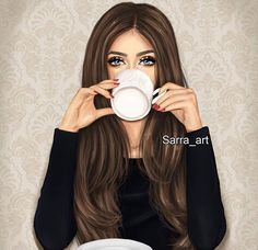 Find images and videos about art, girly and drawing on We Heart It - the app to get lost in what you love. Best Friend Drawings, Tumblr Drawings, Girly Drawings, Girly M, Cute Cartoon Girl, Cartoon Art, Sarra Art, Chica Cool, Cute Girl Drawing