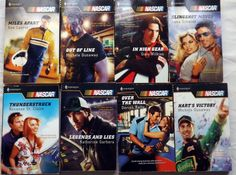 Lot 8 Harlequin Romance Books NASCAR Casper Dunaway Schmidt Kelly Wilkins Book
