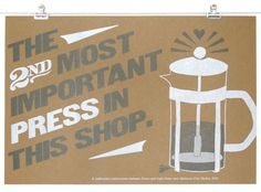 Every shop needs this Baltimore Print Studios print