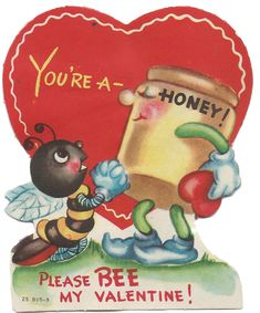 Vintage Valentines offered at the Sweet Magnolias Farm Blog