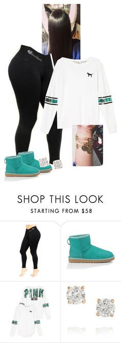 """School outfit."" by kvgxo ❤ liked on Polyvore featuring UGG Australia, Anita Ko and Alex and Ani"