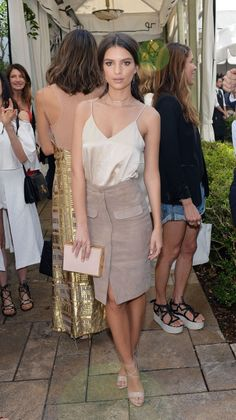 Steal her luxe style: How to get model Emily Ratajkowski's date night look | The Luxe Lookbook