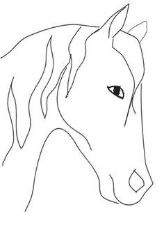 beginners easy drawings horse drawing animal head pencil line draw horses simple sketches step beginner becuo stuff cowboy doodle mer
