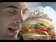 """New Jack in the Box® Commercial / Marry It    """"You may now eat the bride"""" hahahah :)    Advertising Agency: StruckAxiom, USA  Creative Director: Matt Anderson"""