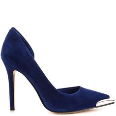59430fca94d Guess Footwear Beilan - Dark Blue Suede Blue Suede Pumps