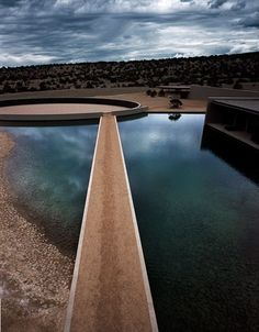 ndo in the desert : architecture meets fashion : tom ford's ranch in sante fe by tadao ando
