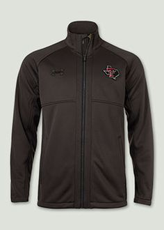 Under Armour® 2014 Triad Charcoal Full Zip Jacket. Red Raider Outfitter