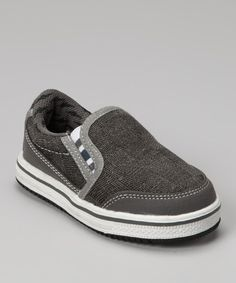 Sweet skips gain extra style with the addition of these cool sneakers. Easy to slip on and made with a durable sole, they're the everyday option for guys who have places to be and games to play. Man-madeImported