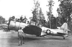 January 30, 2014 - Douglas A-24B Banshee Douglas A-24B on Morotai January 1945