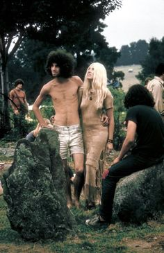Woodstock, 1969. Photo by John Dominis.