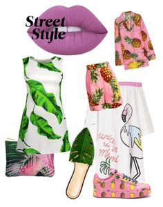 """Summer2017"" by elena-melme on Polyvore featuring Samantha Warren London, Lime Crime, Mira Mikati, Charlotte Olympia и Dolce&Gabbana"