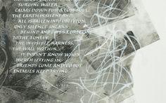 poem: Mika Autio. Mitchell nib, brushes, sumi ink and gouache white. Mika Aution runo, mitchellin terä, sivellin, guassiväri valkoinen ja sumi-ink