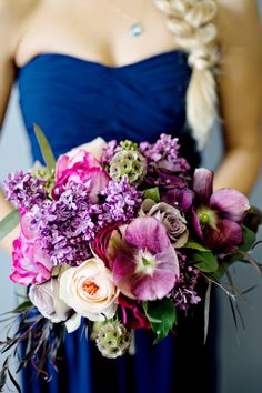Shades of Purple Bouquet | Andie Freeman Photography