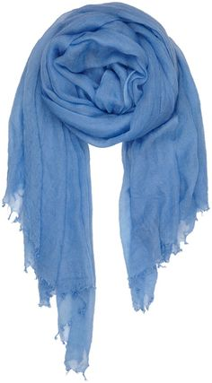 Top of the Pop - finest cashmere scarf SS16 #blue #cashmere