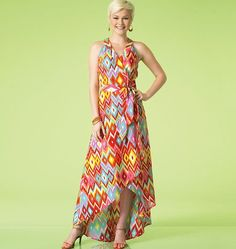 McCall's 7119 MISSES' DRESSES sewing pattern