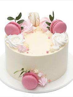 Cake Decorating Designs, Creative Cake Decorating, Birthday Cake Decorating, Cake Decorating Techniques, Creative Cakes, Cake Designs, Elegant Birthday Cakes, Beautiful Birthday Cakes, Happy Birthday Cakes
