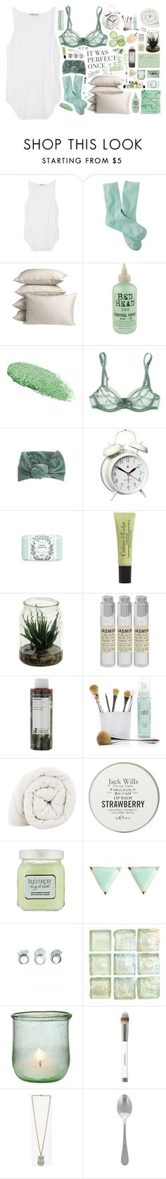 """""""Untitled #165"""" by jenniezara ❤ liked on Polyvore featuring T By Alexander Wang, Merona, PBteen, Bed Head by TIGI, Lancôme, Huit, SELECTED, Newgate, Mistral and Crabtree & Evelyn"""