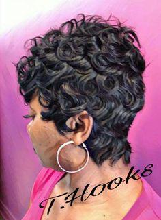Short Curly Pixie, Glam Hair, Hair Studio, Fashion, Moda, Fashion Styles, Fashion Illustrations