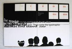 Robert Massin Catalog by Samantha Kocking, via Behance