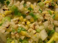 Roasted Corn and Mango Salsa - the whole batch is only $.80 to make!