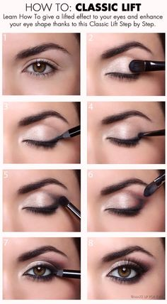Fashionble Natural Eye Makeup Tutorials for Work - Miladies.net