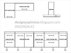 Dise o 3d planos 3d on pinterest valencia and 3d - Planos de cocinas ...