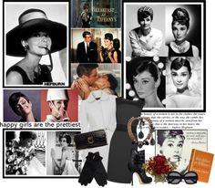 """""""Iconic: Audrey Hepburn"""" by xxofashionforwardxxo ❤ liked on Polyvore"""