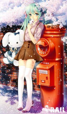 ❤٩(๑•◡-๑)۶❤ Hatsune Miku
