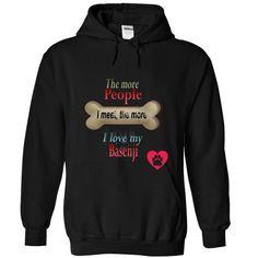 BASENJI T-Shirts, Hoodies. GET IT ==► https://www.sunfrog.com/Pets/BASENJI-3853-Black-12065590-Hoodie.html?id=41382