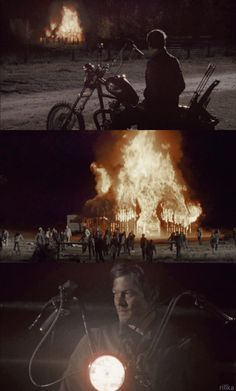 daryl {beside the dying fire}. Makes so much more sense now