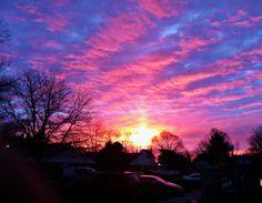 Sunrise in Ohio