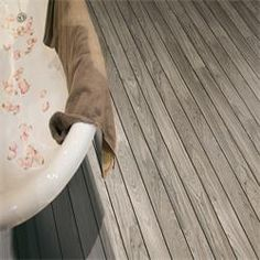 Sumatra Teak AquaStep Shipdeck Laminate Flooring boat
