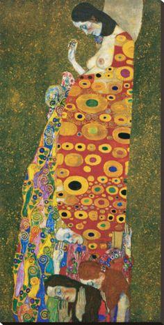 Hope II (Die Hoffnung II) by Gustav Klimt. allposters.com