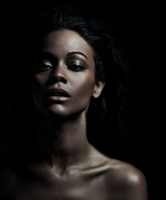 """Zoe Saldana for the Africa Outreach Project"""