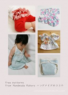 free sewing patterns baby - Google Search