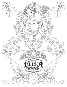 Princess Elena of Avalor disney princess coloring pages printable and coloring book to print for free. Find more coloring pages online for kids and adults of Princess Elena of Avalor disney princess coloring pages to print. Belle Coloring Pages, Disney Coloring Sheets, Free Kids Coloring Pages, Paw Patrol Coloring Pages, Disney Princess Coloring Pages, Heart Coloring Pages, Disney Princess Colors, Disney Colors, Cartoon Coloring Pages
