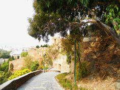 Alcazaba, Corcaha y Jardines de Puerta Oscura .Málaga.