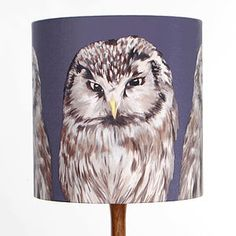 Are you interested in our hand painted owls lampshade? With our handmade silk shade you need look no further. Painting Lamp Shades, Painting Lamps, Silk Painting, Wooden Table Lamps, Psychedelic Pattern, Standard Lamps, Hand Painted, Painted Owls, Gray Background
