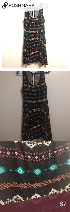 Patterned Sundress from PacSun Size Small Kirra sundress from PacSun. Size small. Slight pilling, as pictured. Tag has been removed because it was itchy! Lol 15% off 3+! Kirra Dresses Mini