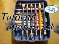 ▶ Utensili per pasta di zucchero (sugar paste modeling tools) by ItalianCakes - YouTube