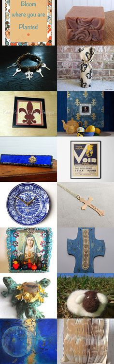 La maison me manque - Homesick by Eejee Art on Etsy--Pinned with TreasuryPin.com Bloom Where You Are Planted, Hanukkah, Wreaths, Collections, Plants, Etsy, Home Decor, Art, Home
