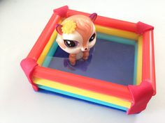How to make LPS Swimming Pool & Floatie