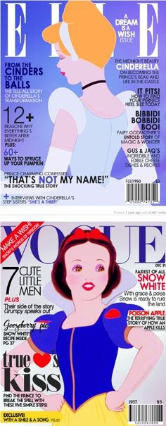 Disney Princess Magazine Covers