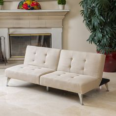 Christopher Knight Home Alston Click-Clack Oversized Convertible 2-piece Sofa - Overstock™ Shopping - Great Deals on Christopher Knight Home Sofas & Loveseats