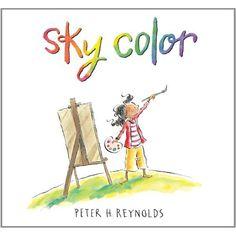 New Peter Reynolds book ... Sky Color