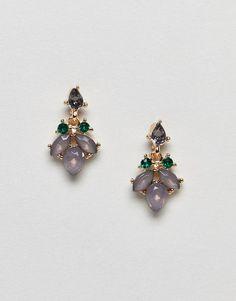 ASOS Pretty Jewel Drop Earrings
